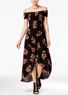 American Rag Off-The-Shoulder High-Low Maxi Dress, Only at Macy's
