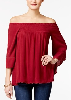 American Rag Off-The-Shoulder Peasant Top, Only at Macy's