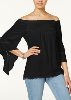 American Rag Off-The-Shoulder Peasant Top, Created for Macy's