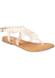 American Rag Palima Embroidered Flat Sandals, Only at Macy's Women's Shoes