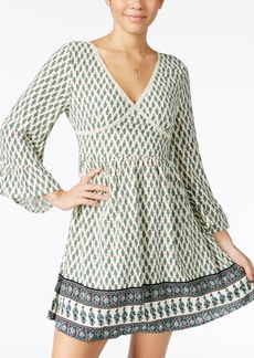 American Rag Printed Bell-Sleeve Peasant Dress, Only at Macy's