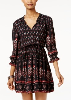 American Rag Printed Ruffled Peasant Dress, Only at Macy's