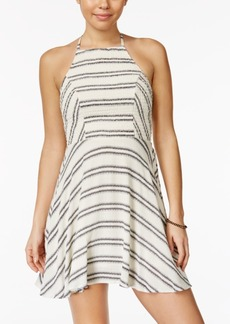 American Rag Printed Smocked-Bodice Dress, Only at Macy's