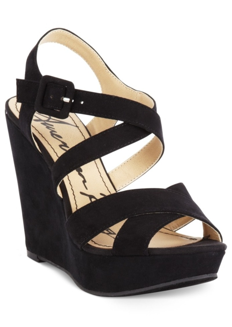 American Rag Rachey Platform Wedge Sandals, Only at Macy's Women's Shoes