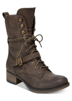 American Rag Reighn Lace-Up Combat Boots, Created for Macy's Women's Shoes