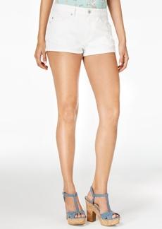 American Rag Ripped Cuffed Denim Shorts