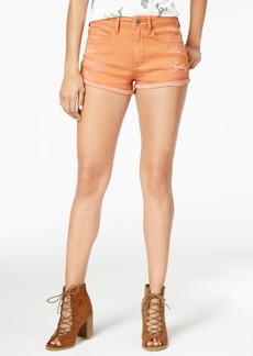American Rag Ripped Cuffed Denim Shorts