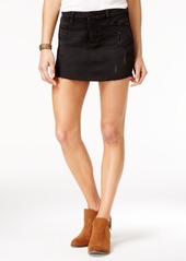 American Rag Ripped Denim Mini Skirt, Only at Macy's