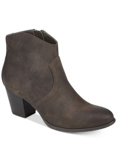 American Rag Rylie Western Ankle Booties, Created for Macy's Women's Shoes