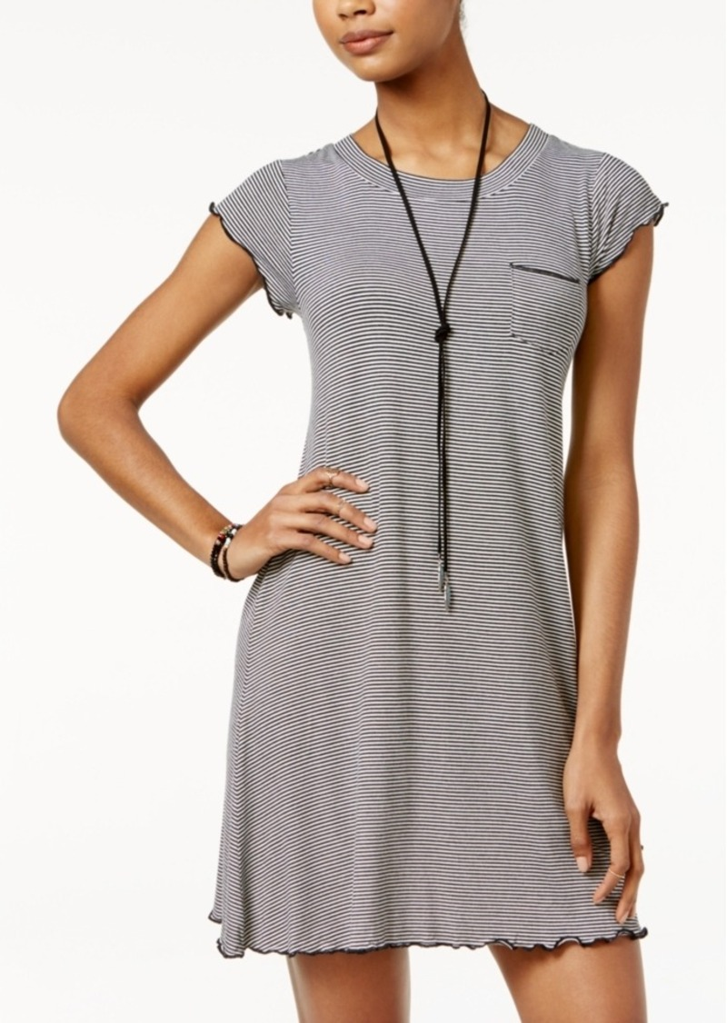 American Rag Striped T-Shirt Dress, Only at Macy's