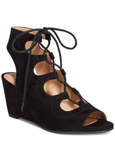American Rag Suriya Lace-Up Demi Wedge Sandals, Only at Macy's Women's Shoes
