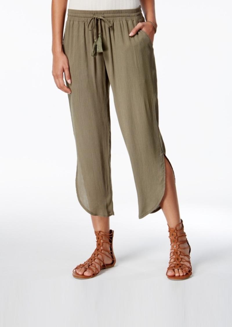 052191519 American Rag American Rag Juniors' Teardrop-Hem Soft Pants, Created ...