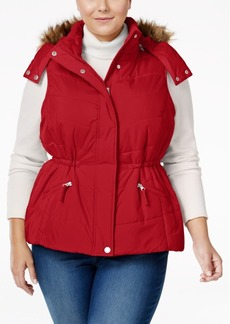 American Rag Trendy Plus Size Puffer Vest, Only at Macy's