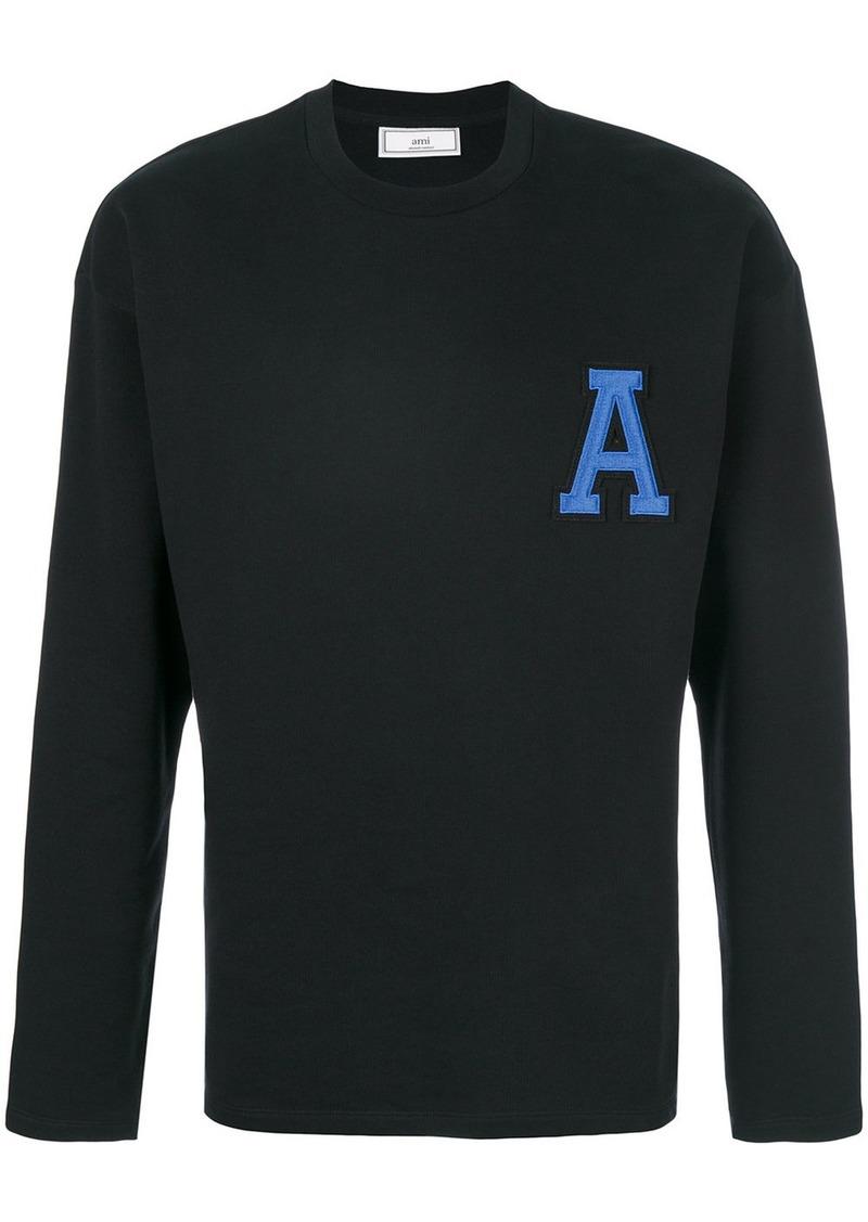 AMI A Patch Sweatshirt