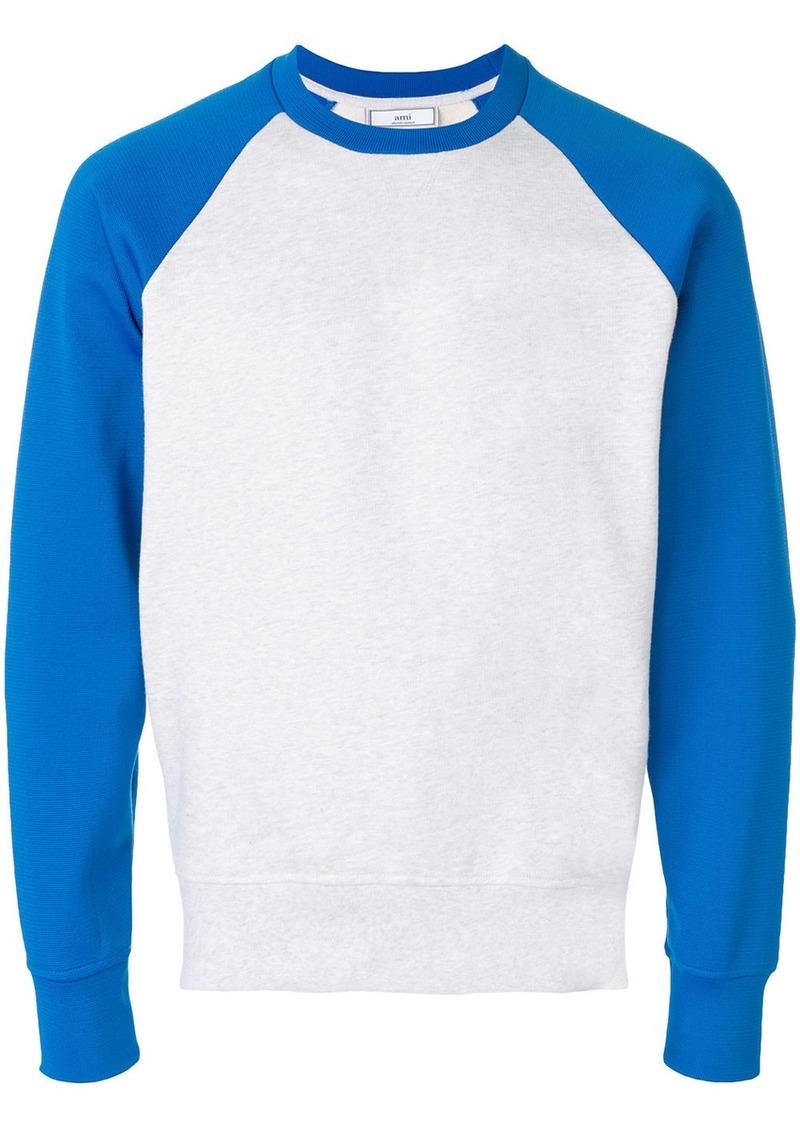 AMI Bimaterial Sweatshirt