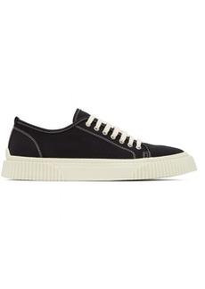 AMI Alexandre Mattiussi Black Low-Top Sneakers