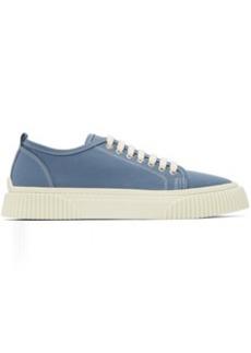 AMI Alexandre Mattiussi Blue Low-Top Sneakers