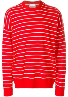 AMI crewneck striped sweater