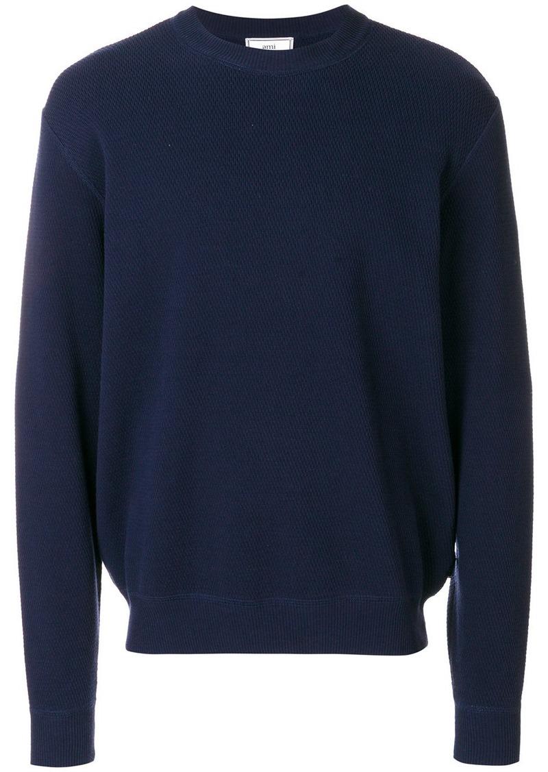 AMI crewneck sweater
