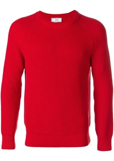 AMI raglan sleeves crewneck sweater
