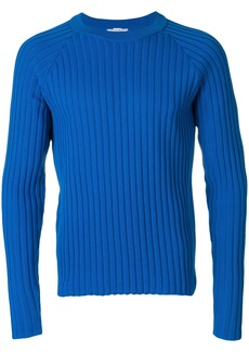 AMI Ribbed Raglan Sleeves Sweater