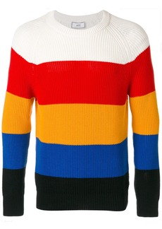 AMI striped round-neck jumper