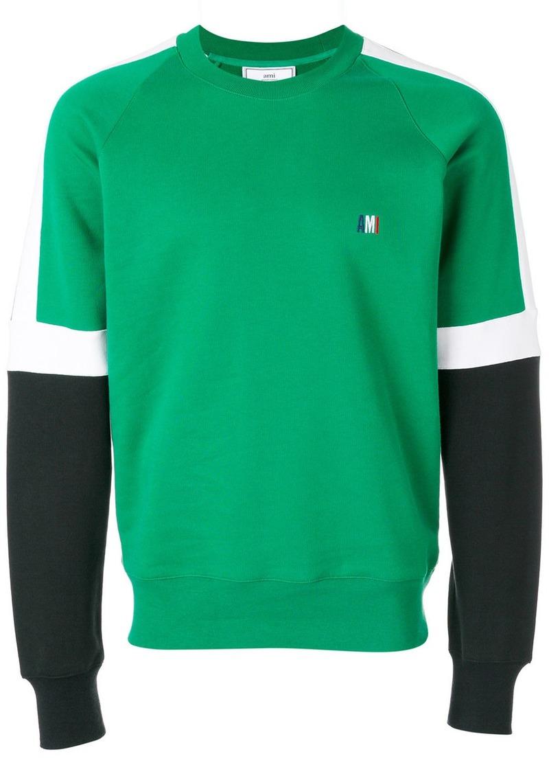 AMI Tricolour Sweatshirt