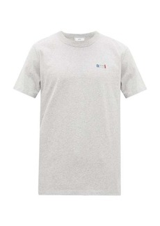 AMI Ami embroidered cotton T-shirt