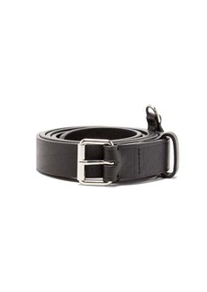 AMI D-ring leather belt