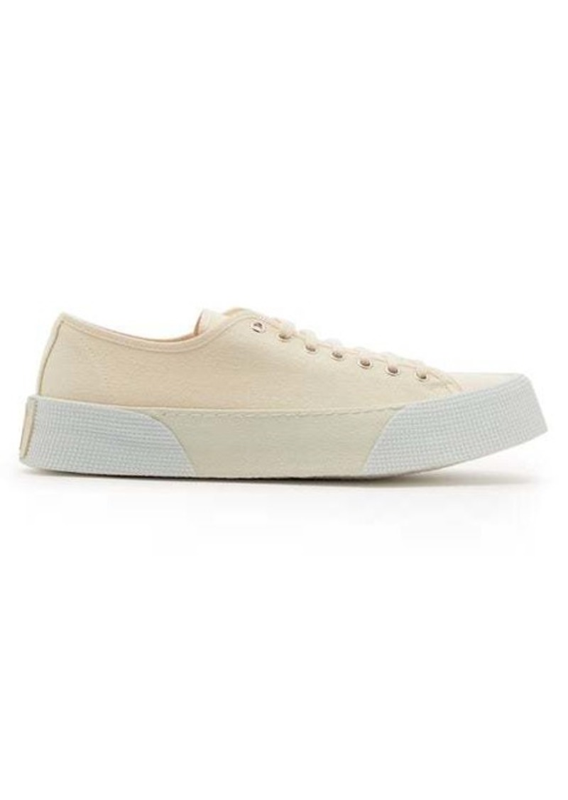 AMI Flatform canvas trainers