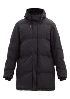 AMI Hooded technical-shell padded coat