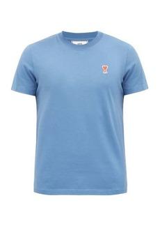 AMI Ami de Cœur logo-patch cotton-jersey T-shirt