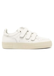 AMI Low-top leather trainers