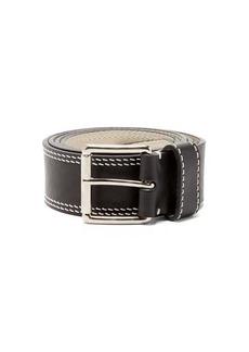 AMI Stitched leather belt