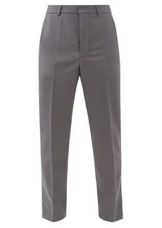 AMI Tailored twill slim-leg trousers