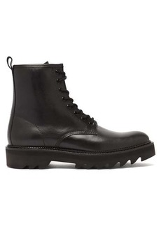 AMI Tread-sole leather boots