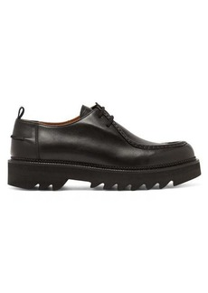 AMI Tread-sole leather derby shoes