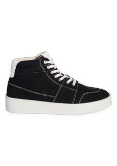 Baskets Ami De Coeur High-Top Sneakers
