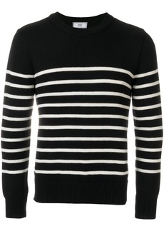 AMI Breton Stripes Crewneck Sweater