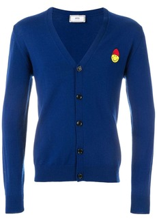 AMI Cardigan Smiley Chest Patch