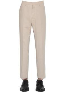 AMI Cotton Twill Cigarette Pants
