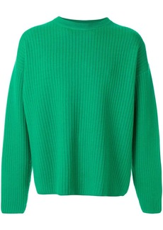 AMI crew neck wool oversize sweater