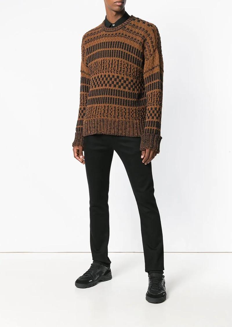 AMI Crewneck oversize sweater