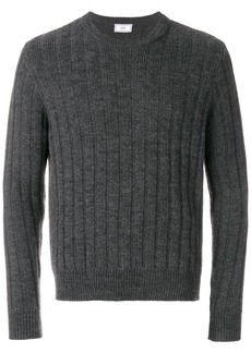 AMI Flat Ribbed Crewneck Sweater