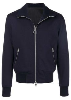 AMI Funnel Neck Zipped Jacket