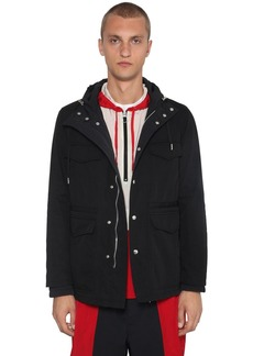 AMI Hooded Zip-up Short Parka