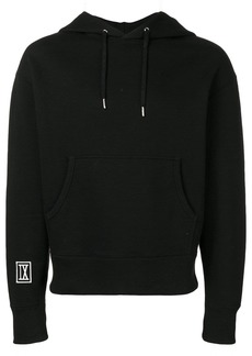 AMI hoodie with 9 patch