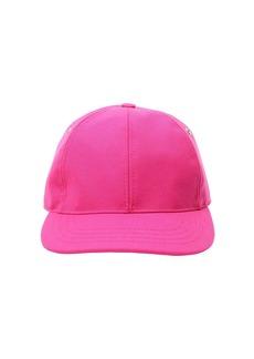AMI Logo Patch Wool Gabardine Baseball Hat