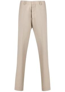 AMI mid rise straight-leg trousers