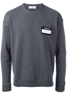 AMI name tag patch jumper